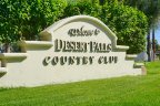 Desert Falls Country Club Community Marquee