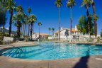 Splash in the pool at Desert Falls Country Club in Palm Desert CA