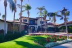 Monterey Country Club has a stunning Clubhouse with fountain