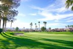 Great open views with the mountains in the distance at Oasis Country Club