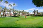 Putt to a birdie on this Oasis Country Club Green