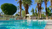 Splash around in the Palm Desert Resort Country Club Pool