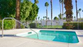 Soak in the Palm Desert Resort Country Club Community Spa