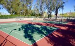 Silver Spur Ranch offers residents tennis courts