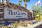 The Gallery Marquee is made on a stacked stone wall