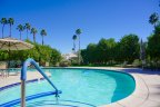The Lakes Country Club offers residents a community pool in Palm Desert