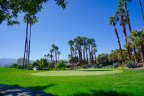 Well maintained greens at The Lakes Country Club in Palm Desert