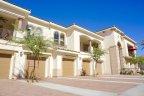 Condos with garages below in Villa Portofino Palm Desert CA