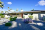 Midcentury homes at Deepwell Estates in Palm Springs CA