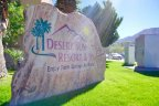 The Desert Sun Resort Community Marquee