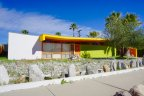 Brightly colored home in El Rancho Vista Estates is playful and inviting