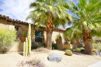 A beautiful spanish style single story at Monte Sereno in Palm Springs Ca