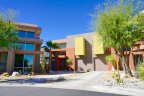 A group of modern homes at Palermo in Palm Springs