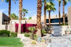 This exquisite modern home exists within the Rancho Mirage neighborhood of Artisan