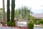 The entrance to the La Toscana community in Rancho Mirage Ca