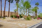 A well maintained single story home at Magnesia Falls Cove in Rancho Mirage Ca