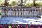 A beautiful fountain within the Mirada Estates community