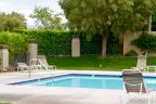 The refreshing community pool at Mission Hills East in Rancho Mirage
