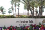 Mission Hills Lakefront Community Marquee