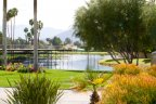 A view of the lake at Mission Hills Legacy in Rancho Mirage