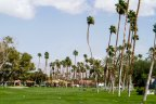 A view of the impressive golf course at Rancho Las Palmas