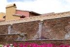 An impressive fountain at the entrance to Santo Tomas in Rancho Mirage