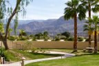 One of the many walking paths at St Augustine in Rancho Mirage
