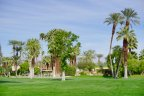 The well manicured golf course at Tamarisk Country Club