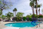 The community pool is quite refreshing within The Estates at Rancho Mirage