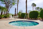 The community jacuzzi at The Estates at Rancho Mirage