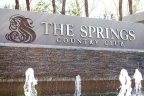 The Springs Country Club Community Marquee