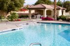 Residents of Tuscany in Rancho Mirage can take a dip in their refreshing pool