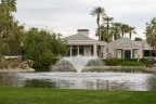 An impressive fountain at Waterford in Rancho Mirage