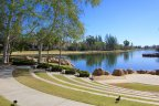 An outdoor amphitheatre at the lake near the community of Montecito