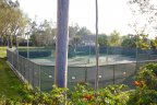 Community tennis courts within the Robinson Ranch neighborhood