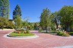 This is entrance to private and gated Wood Ranch Community in Simi Valley