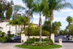The entrance to Monte Verde Estates is gated in Tarzana