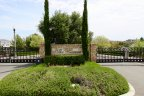 The sign at the entrance to The Reserve at Crowne Hill in Temecula