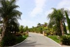 A long driveway leading to a private residence at The Reserve at Crowne Hill