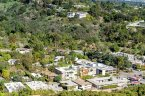Aerial view of the community of Bel Air