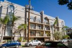 A large well maintained condo building in Brentwood