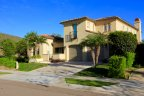 This single family home resides in La Costa Oaks Community