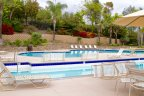 Residents of the Rolling Hills Ranch Community enjoy access to big pool and spa