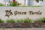 This is Green Turtle Community Sign