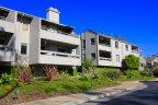 A view of popular Del Mar Wood Condominiums