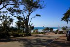Road leading to the beach spot in Olde Del Mar