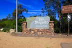 San Dieguito County Park sign in Rancho Del Mar