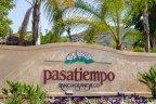 Pasatiempo Rancho San Diego Community Sign in El Cajon