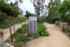 This is the Park Sign at the entrance of the Las Verdes Park