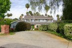 This traditional Equestrian House resides in Olivehain Neighborhood in Encinitas California